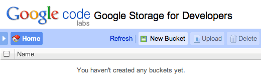 Google Storage Manager